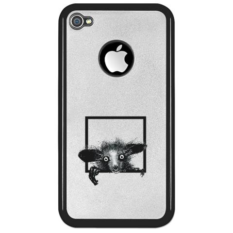 Creepy Finger Records Aye Aye Madagascar iPhone 4 Case Accessories