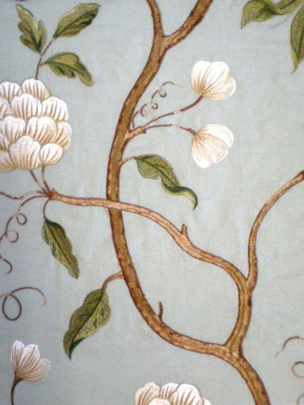 Colefax & Fowler Snow Tree fabric