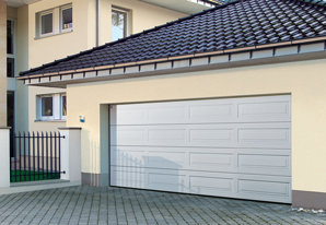 Georgian sectional garage door